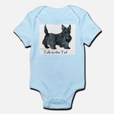 Scottish Terrier Attitude Infant Bodysuit
