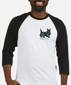 Scottish Terrier Attitude Baseball Jersey