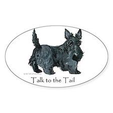 Scottish Terrier Attitude Decal