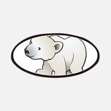 Gray Baby Polar Bear Patches