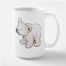 Gray Baby Polar Bear Mug
