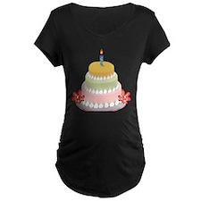BIRTHDAY CAKE [9] Maternity T-Shirt