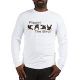 Flip bird Long Sleeve T-shirts