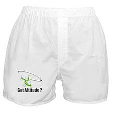 Got Altitude? White Boxer Shorts