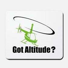 Got Altitude? White Mousepad