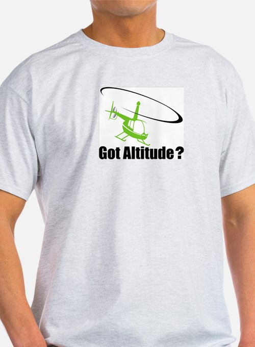 Got Altitude? White Ash Grey T-Shirt
