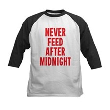 Never Feed After Midnight Baseball Jersey
