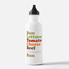 Cheeseburger Water Bottle