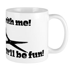 Scissors: Run With Me! Mug