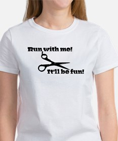 Scissors: Run With Me! T-Shirt