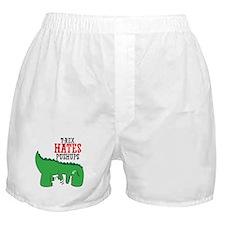 Trex hates pushups Boxer Shorts