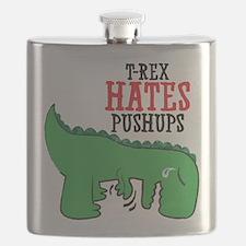 Trex hates pushups Flask