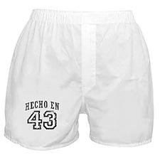 Hecho En 43 Boxer Shorts