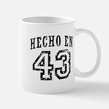 Hecho En 43 Mug