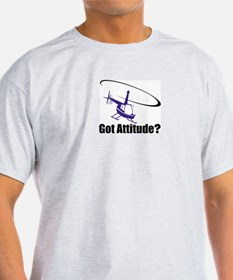 Got Attitude? Ash Grey T-Shirt