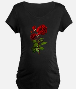 Vintage Red Rose T-Shirt