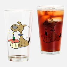 BIRTHDAY PUPPY [1] Drinking Glass