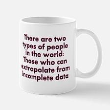 Extrapolate This... Small Small Mug