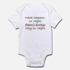What happens in Vegas Infant Bodysuit