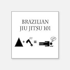 Brazilian Jiu Jitsu Theory Sticker