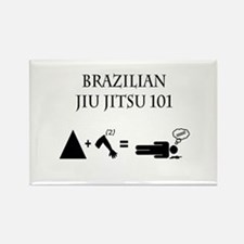 Brazilian Jiu Jitsu Theory Rectangle Magnet