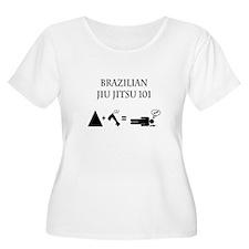 Brazilian Jiu Jitsu Theory Plus Size T-Shirt