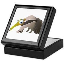 Cartoon Anteater Keepsake Box