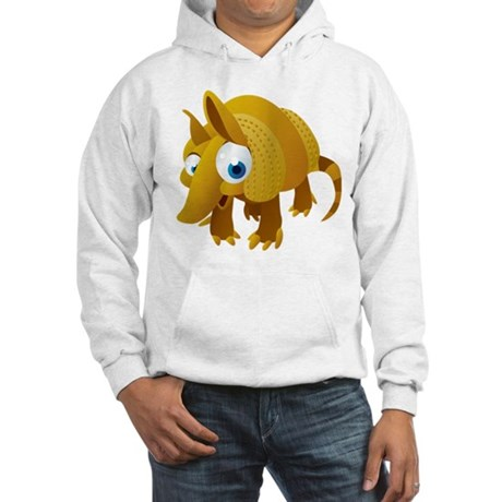 Cartoon Armadillo Hoodie