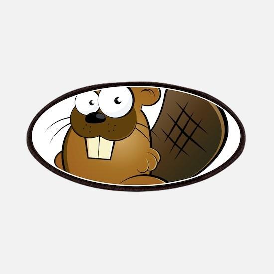 Cartoon Beaver Patches