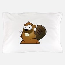 Cartoon Beaver Pillow Case