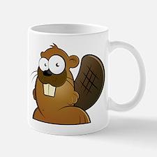 Cartoon Beaver Mug