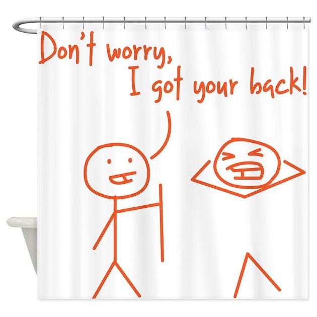 Unique Funny I Got Your Back Stick Figures Shower By Istilllivewithmyparentsfunny
