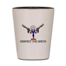 RESPECT THE GREYS Shot Glass