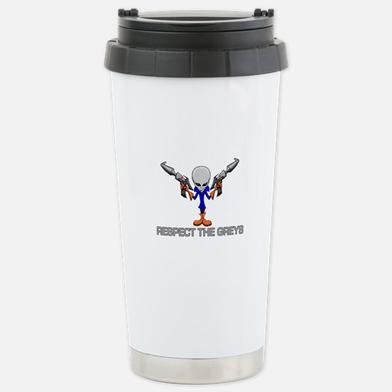 RESPECT THE GREYS Travel Mug