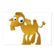 Cartoon Camel Postcards (Package of 8)