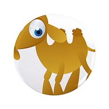 """Cartoon Camel 3.5"""" Button"""