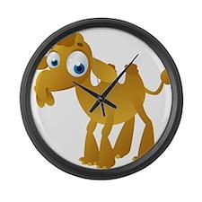 Cartoon Camel Large Wall Clock