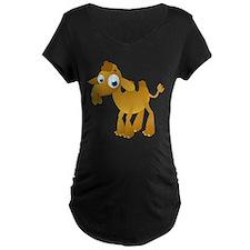 Cartoon Camel Maternity T-Shirt
