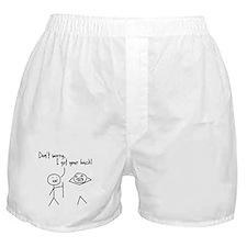 Unique Funny I Got Your Back Stick Figures Boxer S
