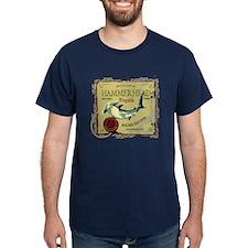 Hammerhead Navy T-Shirt