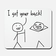 Unique Funny I Got Your Back Stick Figures Mousepa