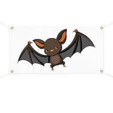 Flying Bat Banner