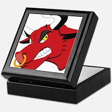 Raging Bull Keepsake Box