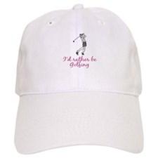 I'd rather be golfing Baseball Cap
