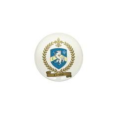 CHEVARIE Family Crest Mini Button
