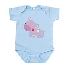 Purple Baby Cow Body Suit