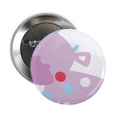 "Purple Baby Cow 2.25"" Button"