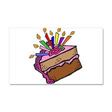 BIRTHDAY CAKE [11] Car Magnet 20 x 12