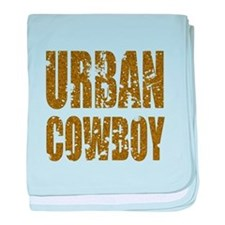 Urban Cowboy baby blanket