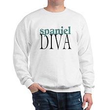 Spaniel Diva Sweatshirt